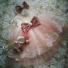 Baby Girl Dresses Fancy, Girls Dress Shoes, Flower Girl Dresses, Baby Dresses, Baptism Dress, Lace Tee, Angelic Pretty, Baby Gown, Baby First Birthday
