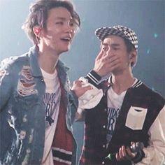 "leejxnki: "" ↳ sweet kibum not knowing what to do with a tearful jinki """