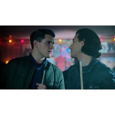 Riverdale's Kevin (Casey Cott) and Joaquin (Rob Raco). The adorable couple no one expected and everyone fell in love with.