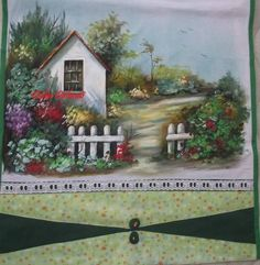 Cenas Do Interior, Fabric Painting, Collage Art, Home Art, Decoration, Decoupage, Magnolias, Projects To Try, Arts And Crafts