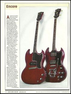 GIBSON SG TENOR GUITAR BROTHERS