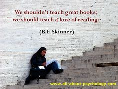 B. F. Skinner Quote by Psychology Pictures, via Flickr