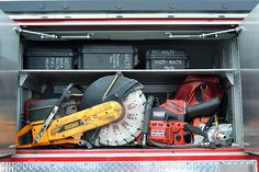 Rescue tools compartment