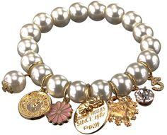 Bransoletka perłowa LOVE Hand Made Bracelet