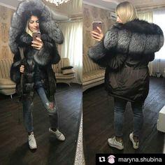 #Repost @maryna.shubina (@get_repost) ・・・ Девочки! СРОЧНО Парка с мехом чернобурки !!! 54 размер! Девушке не подошла По поводу покупки пишите @kuzhilsvetlana