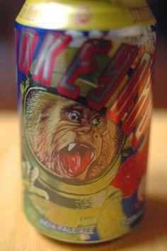 sweet Monkeynaut beer can
