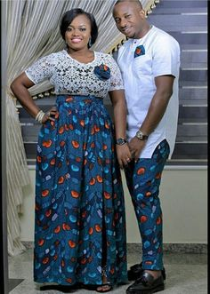 Checkout these Beautiful Ankara Couples Matching Outfit - Ankara collections brings the latest high street fashion online Couples African Outfits, African Wear Dresses, African Fashion Ankara, Latest African Fashion Dresses, Couple Outfits, African Print Fashion, Africa Fashion, Couple Clothes, High Street Fashion