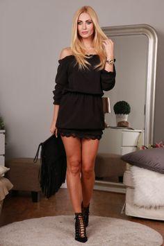 Sukienka czarna 98660