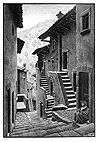 Street in Scanno, Abbruzi