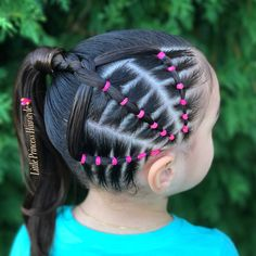 "1,161 Likes, 77 Comments - Adriana (@little_princess_hairstyle) on Instagram: ""This Beautiful Hairstyle was inspired by @ninaslindasconluzmarina. _______________________________…"""