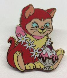 Disney Pin DSF Dinah PTD Pin Trader's Delight Alice in Wonderland HTF Rare Pin