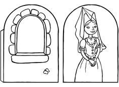 Molde alcoba de la princesa   http://aliena242.blogspot.com.es/2014/03/606-la-habitacion-de-la-princesa.html