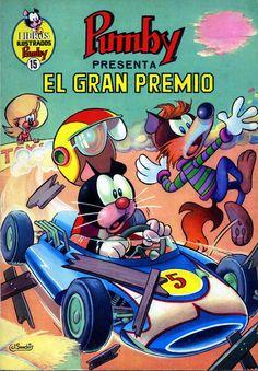 Comic Pumby, nº 15. Libros Ilustrados. El gran premio