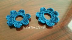 Small flower hair ties  $2 ea. + shipping