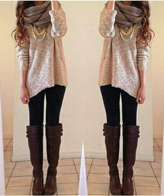 Stylish Cozy Fall Outfit