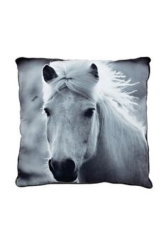 Torre & Tagus Horse Printed Photo Cushion, Grey, http://www.myhabit.com/redirect/ref=qd_sw_dp_pi_li?url=http%3A%2F%2Fwww.myhabit.com%2Fdp%2FB00L4G2K20%3F