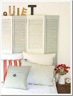 shutters...