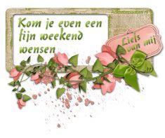 Prettig weekend plaatjes en animaties van Animatieplaatjes.nl