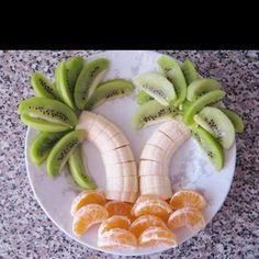 Yum! Coconut trees for a Beach or Jungle party theme.