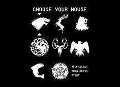 Choose Your House T-Shirt | SnorgTees