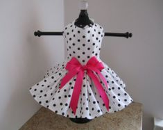 Dog Dress XS Paris By Nina's Couture por NinasCoutureCloset