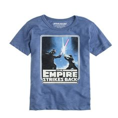 We joined forces with the team behind George Lucas's epic film series to create exclusive tees that feature classic quotes and sketches from their archives. This one features an epic lightsaber battle between Darth Vader and Luke Skywalker. <ul><li>Cotton.</li><li>Machine wash.</li><li>Import.</li></ul>
