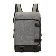 "Newest 2016 Designer Denim Backpack For Women Men Retro Urban Backpack Rucksack 14"" Notebook laptop Shoulder School Bags Satchel(China (Mainland))"