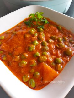 Aloo matar is a vegan, creamy, delicious and delectable Indian dish. Here in this creamy Aloo Matar Recipe which is easy to make at home. Veg Recipes, Indian Food Recipes, Cooking Recipes, Ethnic Recipes, Vegetarian Curry, Tasty, Yummy Food, Indian Dishes