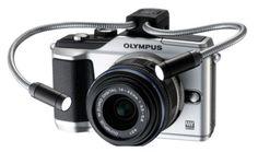 Adjustable closeup 'Medusa' spotlight for macro photography on the Olympus E-PL2