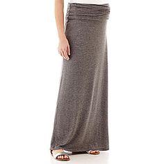 jcp   Maternity Knit Maxi Skirt - Plus $23.99