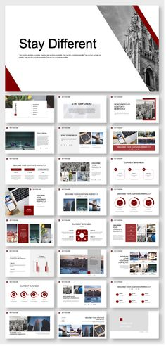 Creative Company Report Presentation Template – Original and high quality Pow. Powerpoint Examples, Powerpoint Tutorial, Powerpoint Design Templates, Professional Powerpoint Templates, Creative Powerpoint, Booklet Design, Company Presentation, Design Presentation, Corporate Presentation