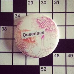 *queenbee* Collage pin by Daydream Studios and available in shops listed on the board