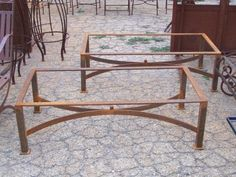 1000 ideas about table basse fer forg on pinterest for Table jardin fer forge occasion