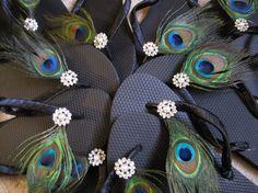 So Sweet Bride Pearl and Rhinestone Peacock by DreamingBabies, $25.95