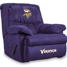 vikings bedroom set | Minnesota Vikings Home Team Recliners by Imperial USA - NFL