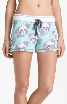 PJ Salvage 'Skully' Shorts available at #Nordstrom