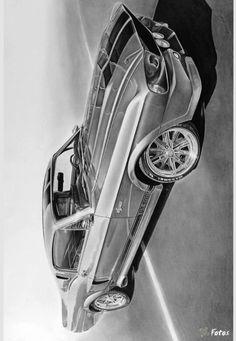 Ford Mustang, Mustang Gt500, Lowrider Drawings, Car Drawings, Mustang Drawing, Shelby Gt 500, Car Tattoos, Skull Tattoo Design, Car Sketch