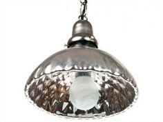 mercury glass pendant, pendant, vintage pendant light, mercury glass pendant lamp
