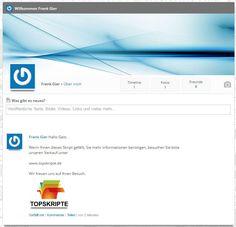 Das Twitter Skript ist interaktiv und erlaubt es dem Benutzer ein eigenes Social Network oder einen Twitter Clone zu eröffnen. Ausgabe mit Demoserver.