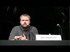 Walking Dead creator, Robert Kirkman discusses the differences between writing for television and comic books at the 2012 L.A. Times Festival of Books.  http://www.scriptsandscribes.com/