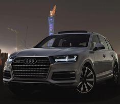 Audi Q7 3.0TFSI quattro (333hp V6 supercharged) Performance: 0-100kmh/62mph: 6.3sec (official) Top Speed: 250kmh Color: Glacier white metallic Location: Doha Qatar Facebook: http://ift.tt/1sUXuHP Camera & lens: Canon Eos 5D Mark II / 24-70 mm Thanks to: Audi Qatar (@audiqatar)
