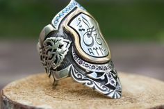 Archer RingThumb RingAllah RingTriumph RingHadith   Etsy Men's Jewelry Rings, Jewelery, Turkish Rings, King Ring, Sword Design, Engagement Rings For Men, Islamic Gifts, Thumb Rings, Silver Rings Handmade