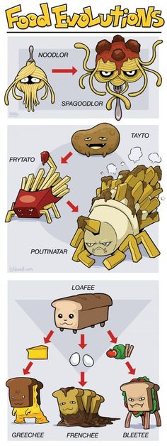 Pokemon meets food. Best idea ever.