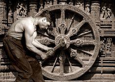 DON/OFF.Wheel of Dharma.