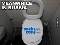 Meanwhile in Russia Bathroom