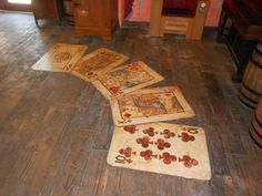 Floor Design at the St. Augustine History Museum..