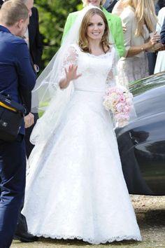 Vestido de novia de GeriHalliwell de Phillipa Lepley - Foto: Gtres Online