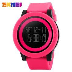 2016 New Brand SKMEI Watch Men Military Sports Watches Fashion Silicone Waterproof LED Digital Watch For Men Clock digital-watch