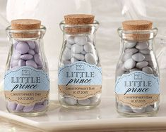 Personalized Milk Jar - Little Prince (Set Of 12 - as low as $1.25 each)