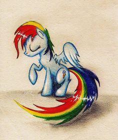 Rainbow Dash Mlp Characters, Fictional Characters, My Little Pony Collection, My Lil Pony, Mlp Fan Art, Care Bears, Rainbow Dash, Unicorns, Pugs